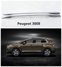 Buy Auto Roof Racks Luggage Rack Peugeot 3008 2013.2014.2015.2016.2017 High Aluminum Screw Installation Car Accessories for $103.60 in AliExpress store