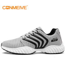 new running shoes cheap sneakers sport mesh breathable sports men for light runing wide(c,d,w) low dmx rubber massage fly real(China)