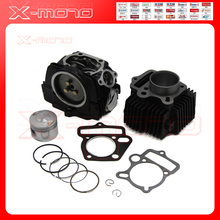 LIFAN 125 125CC CYLINDER HEAD body PISTON GASKET KIT TOP END ENGINE PARTS DIRT BIKE(China)