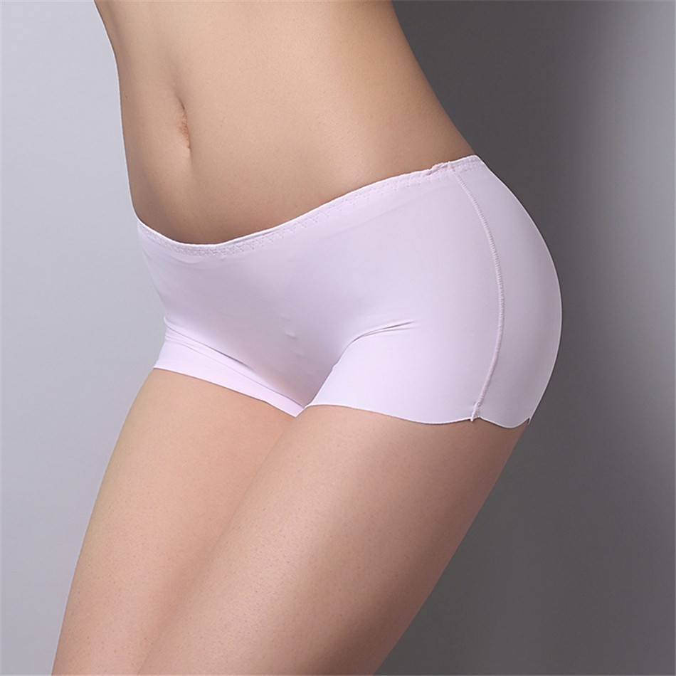 2017 New Arrival Girls Safety Pants Ice Silk Seamless Underpants Women Safety Shorts Plus Size Underwear Panties 15