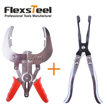 Auto Vehicle Car Repairs Tools Piston Ring Installer Remover Pliers+Extra Long Engine Valve Stem Seal Removal Pliers Tool