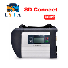 High Quality MB STAR C4 SD CONNECT tool support 21 languages Only C4 main unit