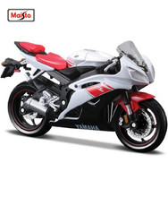 MAISTO 1:18 Yamaha YZF R6 MOTORCYCLE BIKE DIECAST MODEL TOY NEW IN BOX Free Shipping