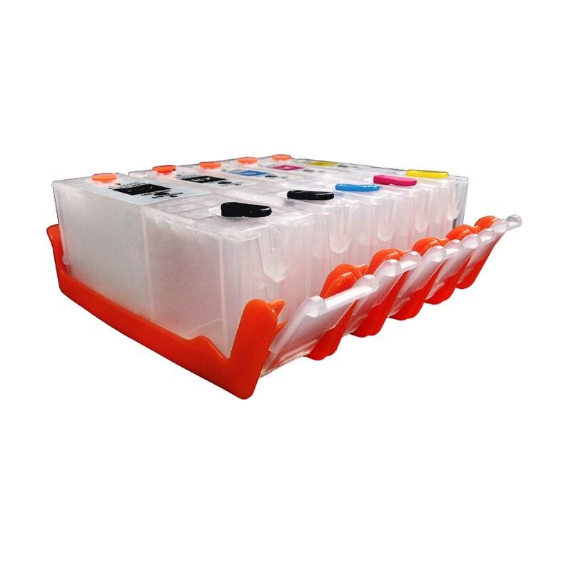5PC PGI570 CLI571 Refillable Ink Cartridge pgi 570 for canon MG5750 MG 5751 MG5752 MG5753 MG6850 MG6851 MG6852 MG6853 pgi-570<br><br>Aliexpress