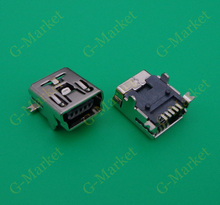 Mini USB connector B type 5pin SMT/DIP USB socket female jack 2.0 100X