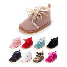 9Colors 2016 Winter Fashion Super Keep Warm Infant Toddler Newborn Baby Boys Girls First Walkers Boots Crib Babe Outdoor Shoes