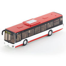 1:50 Man City Bus Lion's City Metal Alloy Model model bus metal diecasts toy vehicles high simulation tourist bus free shipping