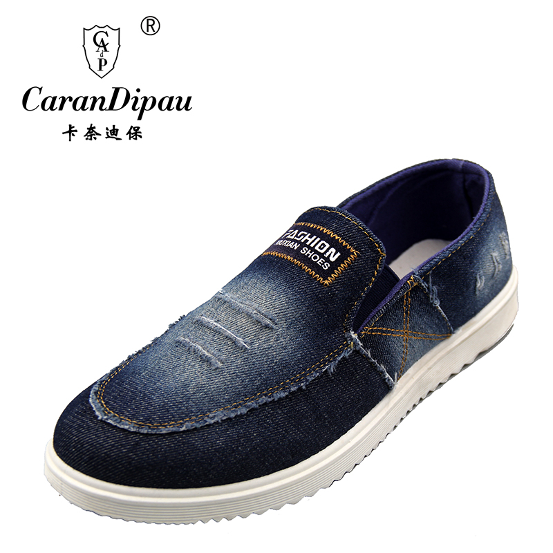 Denim Shoes 2017 New Arrival Mens Fashion Breathable Casual Comfortable Shoes Spring Summer Wear Men casual shoes<br><br>Aliexpress