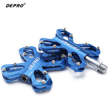 wholesale price 1 Pair Aluminum Alloy Bicycle Pedals Road Mountain BMX Mountain Professional Slip-resistant Bike Parts Bicicleta