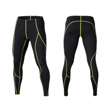 Quick dry compression running tights mens yoga fitness tights kids sports leggins pants jogging football training tights running
