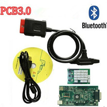 v3.0 green board! new VCI auto obd VD TCS cdp pro plus work for CARs TRUCKs obd2 scan diagnostic tools with Bluetooth function