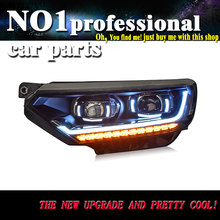 Car Styling Head Lamp For VW PASSAT B8 EUR Headlights LED Headlight DRL ANGEL EYES Bi-Xenon Lens HID Automobile Accessories(China)