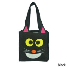 Halloween Gift Bags with Handle For Women Girl Pumpkin Ghost Bat Witch Printed Tote Bags Festival Packaging Bags Kids Candy Bag(China)