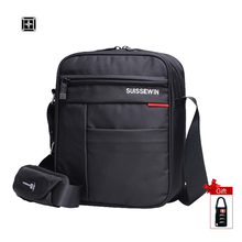 Buy Suissewin Messenger Shoulder Bag Male Brand Men Mini Black Crossbody Bag Ipad Casual Oxford Messenger Satchel Women SN5701 for $20.80 in AliExpress store