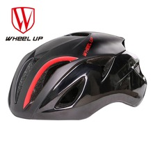 Wheel Up Ultralight Riding Helmet Integrally Molded Adjustable Bicycle Helmet Shock Resistance Road Bike Safety Helmet Free Ship(China)