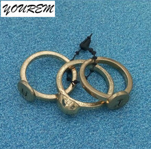 3 pieces/lot fashion rings heart jewelry women wedding bands English letters like Ladies Ring b019 YOUREM