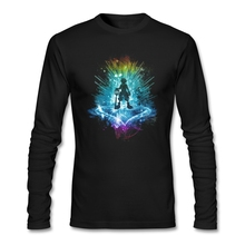 A Key To The Heart Naruto T Shirt Guys Latest Tshirt Home Wear Normal Loose T-Shirt Man Long Sleeve Crew Neck Team Dad Clothing