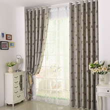 2017 Curtains New For living dining Room Bedroom European style luxury double jacquard full shading study