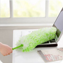 High Quality Car Dust Static Feather Duster To Clean The Dust Wiper Long Design Ultrafine Bendable Fiber Household Cleaning Tool