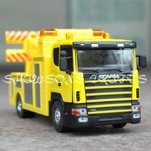 DIE CAST METAL 1/43 SCANIA TOW TRUCK WRECKER MODEL TOY REPLICA(China)