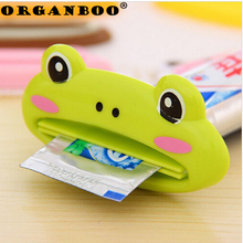 3PCS Cartoon Animal Toothpaste Squeezer Distributeur Dentifrice Bath Toothbrush Holder Tools Squeezing Bathroom Set Accessories(China)