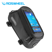 Buy Roswheel Bike Bag Bicycle Bag Cycling Mobile Phone Holder BicycleTelefono Cellulare Touch Screen Rainproof Phone Bags Unises for $9.41 in AliExpress store