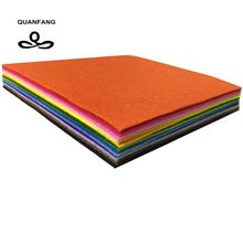 New Non Woven Felt Fabric 1mm Thickness Polyester Cloth Felts Of Home Decoration Pattern Bundle For Sewing Dolls Crafts 15x15cm