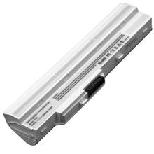 JIGU White Laptop Battery BTY-S11 BTY-S12 for MSi Wind U100 U90 Wind12 U200 U210 U230 Series(White) U230(White) For Lg X110