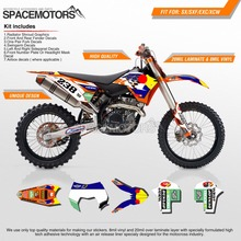 MX 3M wrap skin stickers decals graphics kit for motorcycle dirtbike motocross EXC SX SX-F EWC XC-W 250 450 426 2003-2018(China)