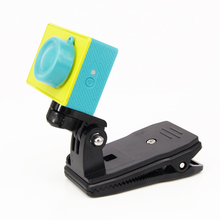 ZJM Xiao Yi Backpack Hat Clip Fast Clamp Mount For Xiaomi Yi Sport Video Camera Holder Accessories