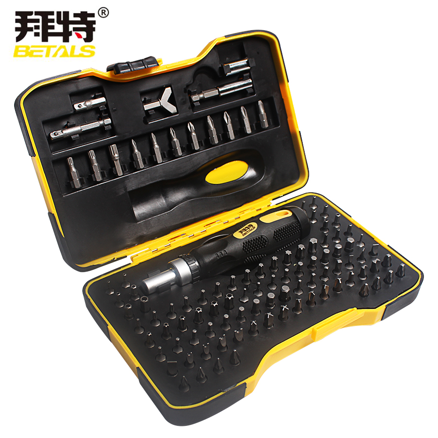 Betals 101 In 1 Multifunction Screwdriver Sets Household Essential Set Of Tools Household Appliances Maintenance Tools Repair<br>