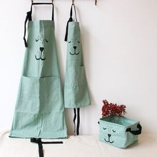 hot simple Kitchen antifouling kid apron Cooking Apron Coverall Tablier Pinafore Chefs Barbecue apron Baby aprons