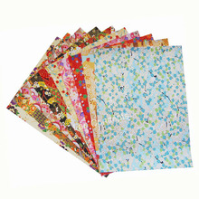 19X27cm Japanese Origami Paper Washi Paper Yuzen paper Chiyogami Paper for DIY gift crafts scrapbook -50pcs/lot mixed designs(China)