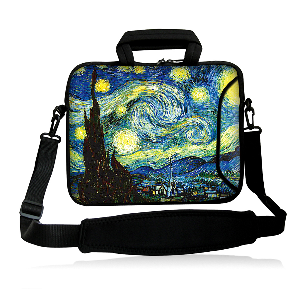 Bad Weather New Ultrabook Messenger Carry Bag Soft 14.1 14.2 14.4 inch 14 Laptop Handle Bags Cover Pouch + Shoulder Strap<br><br>Aliexpress