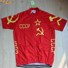RIDE POINT CCCP Red Cycling Jerseys Summer Short Sleeve Men Best Quality MTB or Road Bike Clothes Wears Shirt Ropa Ciclismo 2017
