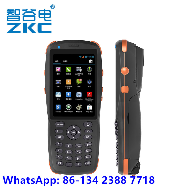 Hot Sell ZKC PDA3501 3.5inch Touch Screen 1D 2D Barcode Scanner Handheld PDA