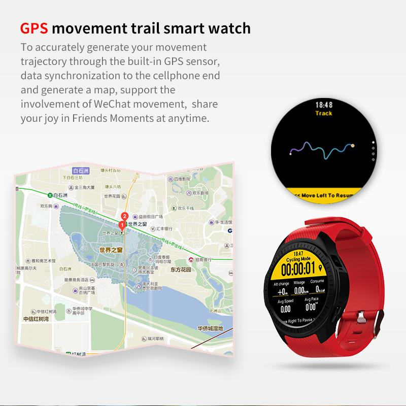 GPS Bluetooth Smart Watch for Sports 2