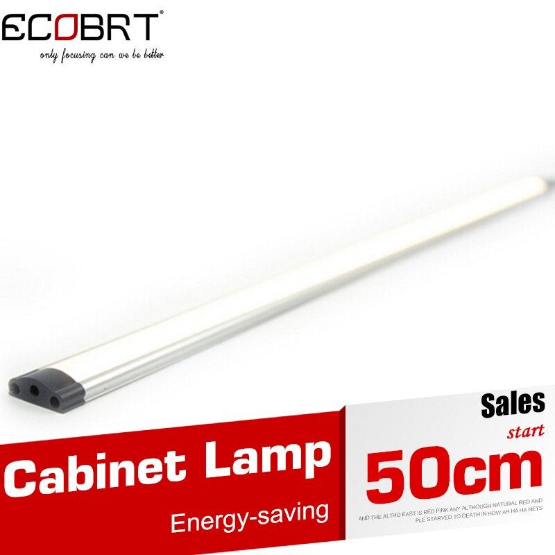 12v Cabinet Lamps 50cm Long Hot Sale 12v Led Tube Linear Under Cabinet Lights Smd3528 for Kitchen Bar lighting 10pcs/lot