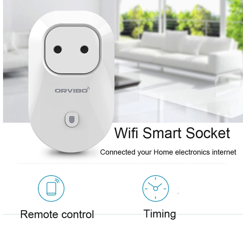 Wifi Charger plug EU Standard smart Power Socket WiFi Smart Switch Travel Plug Socket Home Automation for iPhone Android phone<br><br>Aliexpress