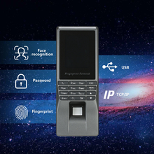 Biometric Facial Face Fingerprint Password Lock Access Control Attendance Machine TCP/IP Screen Employee Checking-in Recorder