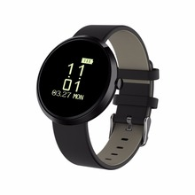 Q90 Bluetooth mart Watch Round Digital Screen Wristbrand Anti-lost Heart Rate Movement Step Tracker Call Reminder Monitor