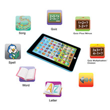 Action & Toy Figures Kids Children Tablet PAD Educational Learning Toys Gift For Girls Boys Baby Chinese English Vee_Mall(China)