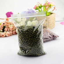 100pcs/lot 15x22cm Zip Lock Bags Clear Poly Bag Recyclable Plastic Bag Favor Jewelry Findings Cosmetics Nuts Gift Packaging Bags