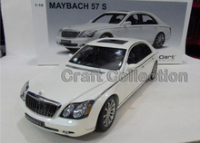 *White 1:18 AutoArt AA Maybach 57 S Diecast Model Car Luxury Gifts Collection Mini Model Car Kits Limitied Edition