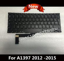 "New for Macbook Pro Retina 15"" A1398 FR French Keyboard azerty No Backlight 2012 2013 2014 2015"