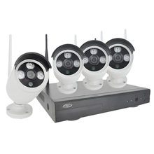 PLV New 2.0 MP FULL HD Wifi CCTV Camera System Kit 4CH Wireless NVR Kit 1080P Wifi Wireless IP Camera Security Surveillance