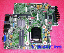 Free shipping CHUANGYISU for original 8300 Elite USDT motherboard,657095-001 656937-001 656938-000,Q77,s1155,work perfect(China)