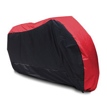 XXL Red + Black Motorcycle Cover For BMW R1150GS R1200GS R1200RT / Honda Shadow Spirit Aero VLX VT750 VT1100 600 / Yamaha V-Star(China)
