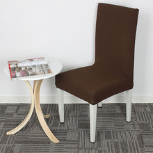 High Quality Cross Back Chair Covers Kitchen Seat Covers Dining Room Decoration Stretch Chair Slipcover Protector V49