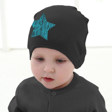 Infant Cotton Knitted Hats Cute Baby Boys Girls Soft Beanies Star Printed Toddlers Caps Newborn Photography Props Accessories(China)